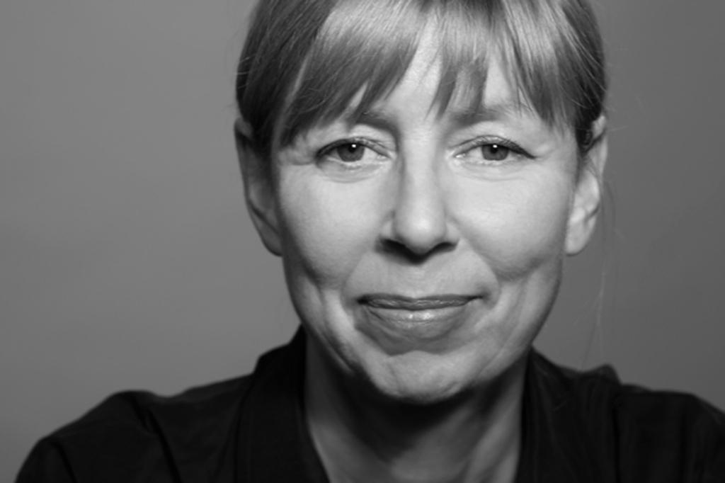 Schwarz-weiß Portrait Ursula Cyriax